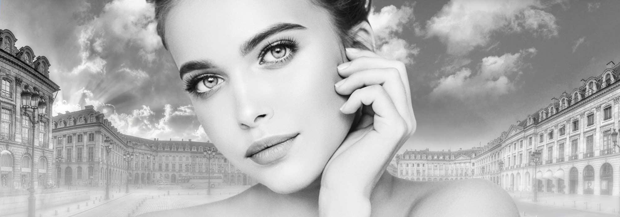 Tempes et sourcils acide haluronique Paris 01 Dr Cozanet