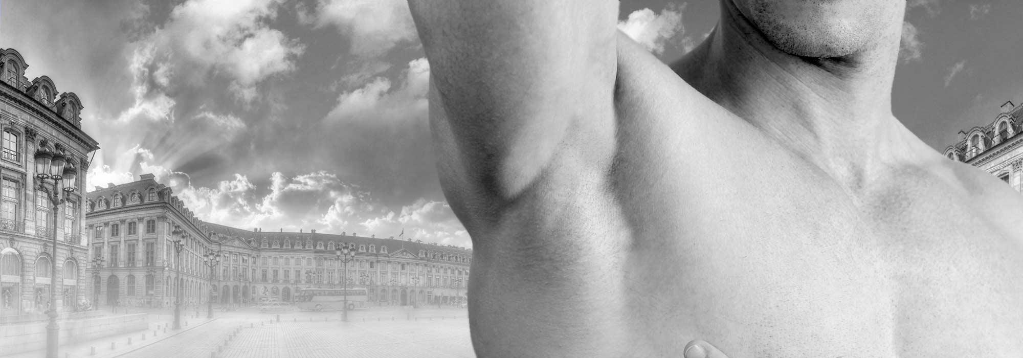 Transpiration excessive chez les hommes Paris Dr Cozanet
